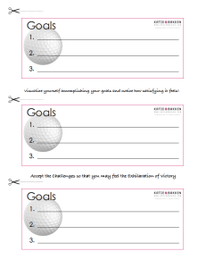 Goal Setting - page 4