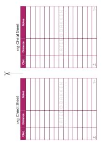 Distance Cheat Sheet - page 2