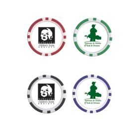 Clay Poker Chip - Ball Marker